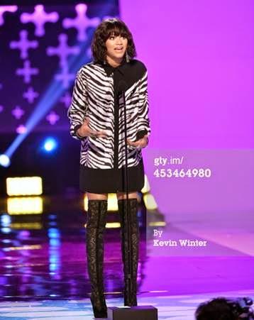 Zendaya Wearing Emanuel Ungaro