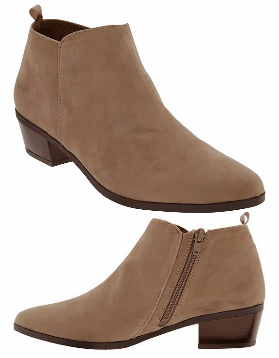 Über Chic for Cheap: Spied: Old Navy Zip Ankle Boots { 15% off Sale}
