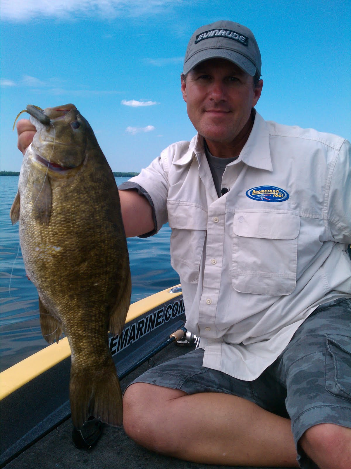 Surviving in the reel world reeling them in on mullett lake for Mullett lake fishing