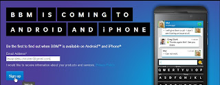 Cara Instal BBM di Android dan iPhone