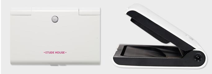 Etude House Enamel+ing gel start kit LED light (at-home gel manicure system)