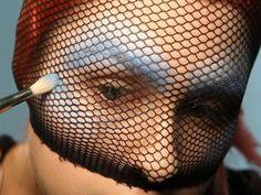 Maquillaje   pez  halloween