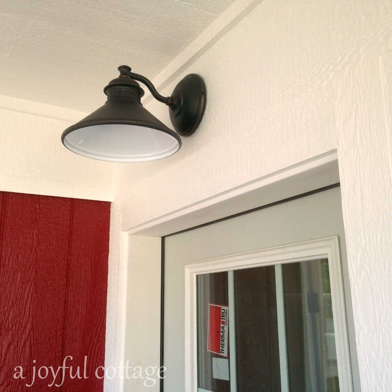 Exterior Lamp Over Each Entry Door.