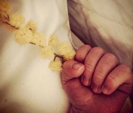 Francesca Cavallin ha partorito