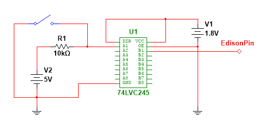 Edison Input Level Shifter Ic Intel Explained. Edison Input Level Shifter Ic. Wiring. Edison System Wiring Diagram At Scoala.co