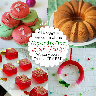 Weekend re-Treat Link Party every Thurs at 7PM EST on playpartypin.com