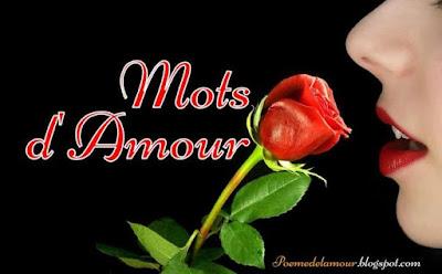 Mots d'amour romantique