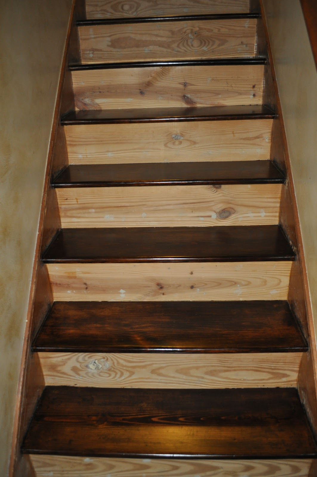 Reclaim Ologists And Other Crafty Chicks Staircase
