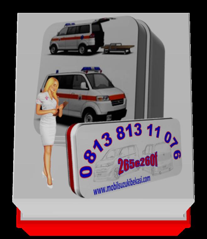 Mobil Suzuki APV Ambulance 2014