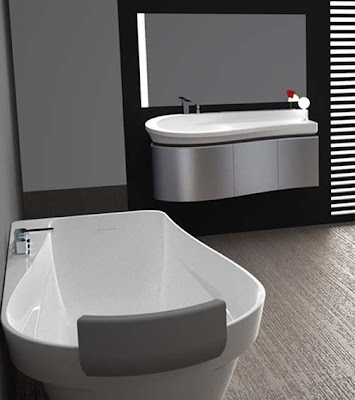 Modern White Bathroom Designs 2012
