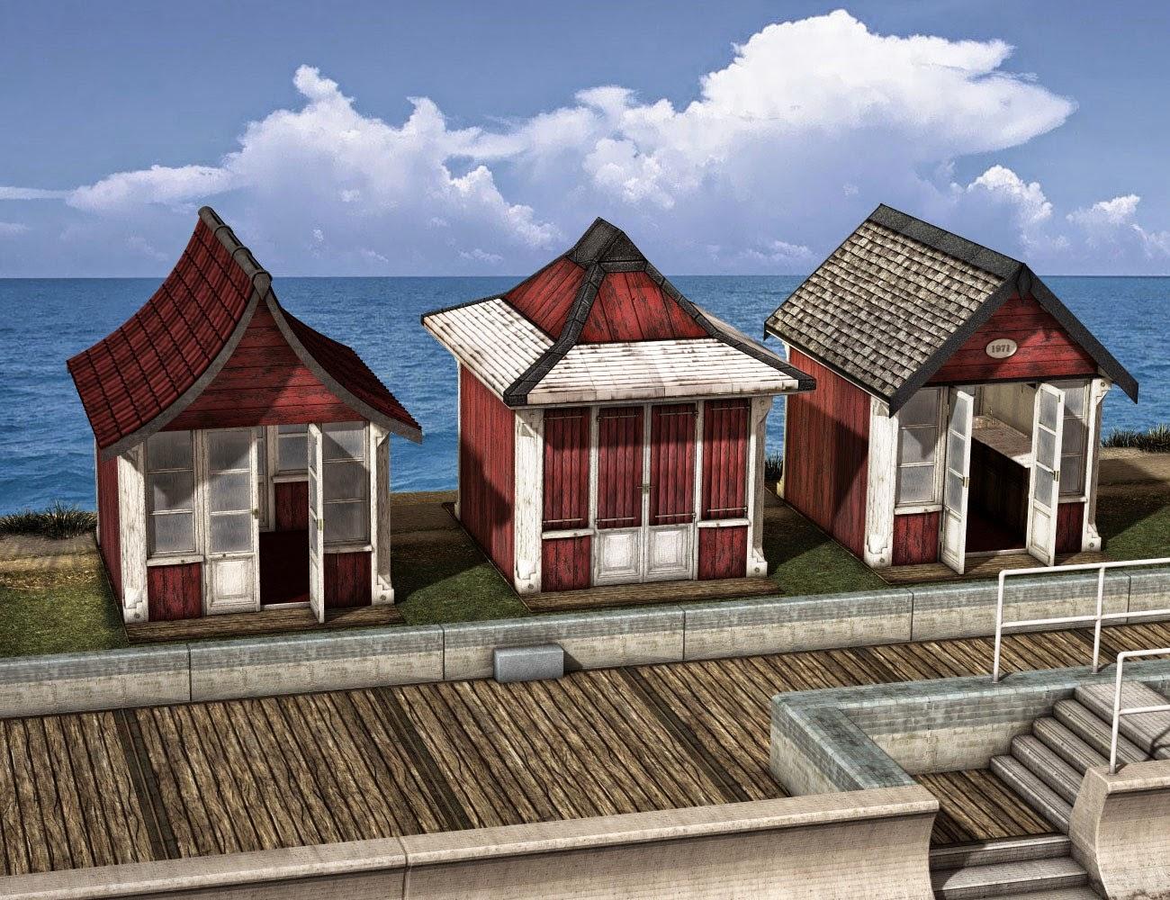 Boardwalk Beach Huts