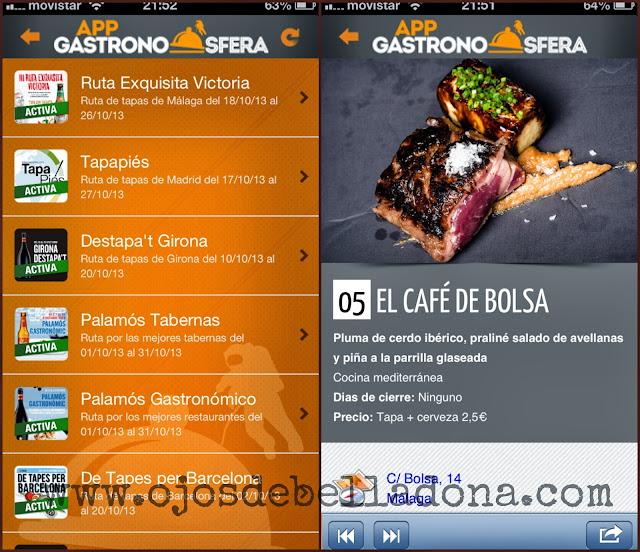 App Gastronosfera