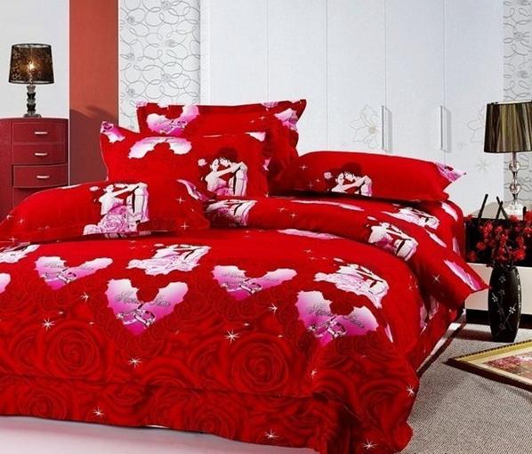Deco chambre interieur d corations romantiques de la for Chambre et literie