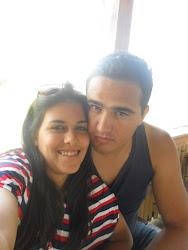 Eu e meu lindo Esposo!!!!