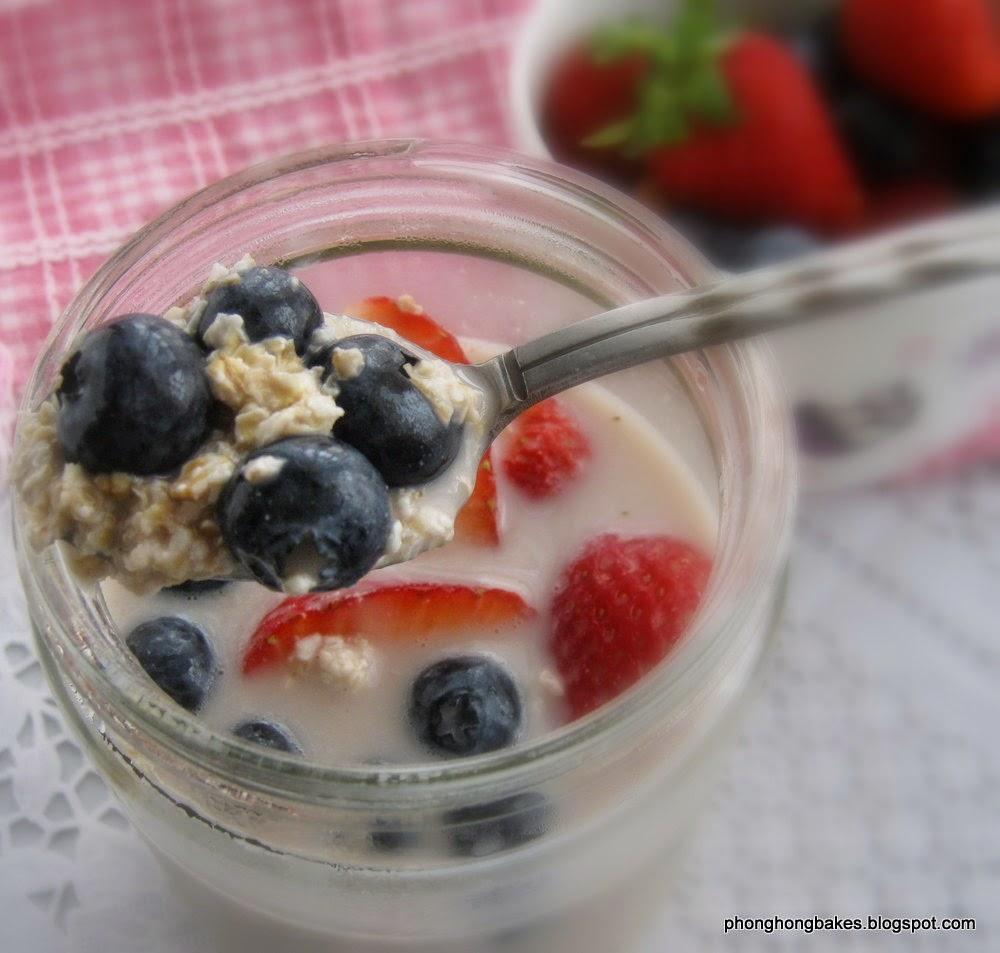 Овсянка в банке с йогуртом рецепты