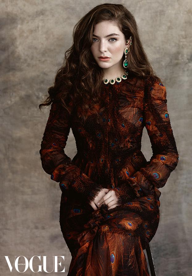 Lorde Vogue Australia 2015