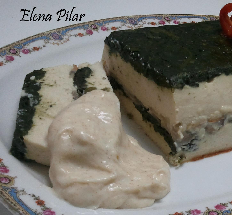 Mi recetario por elena pilar terrina de merluza y - Bechamel con nata para cocinar ...