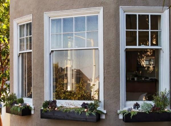 ventanas navideñas