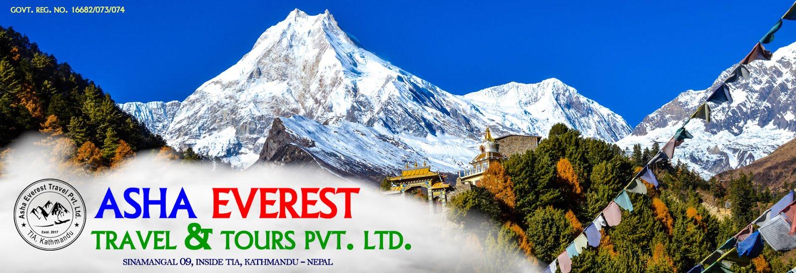 Asha Everest Travel & Tours Pvt. Ltd.