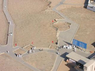 Komplek Pemakaman Baqi Setelah Dihancurkan Wahabi