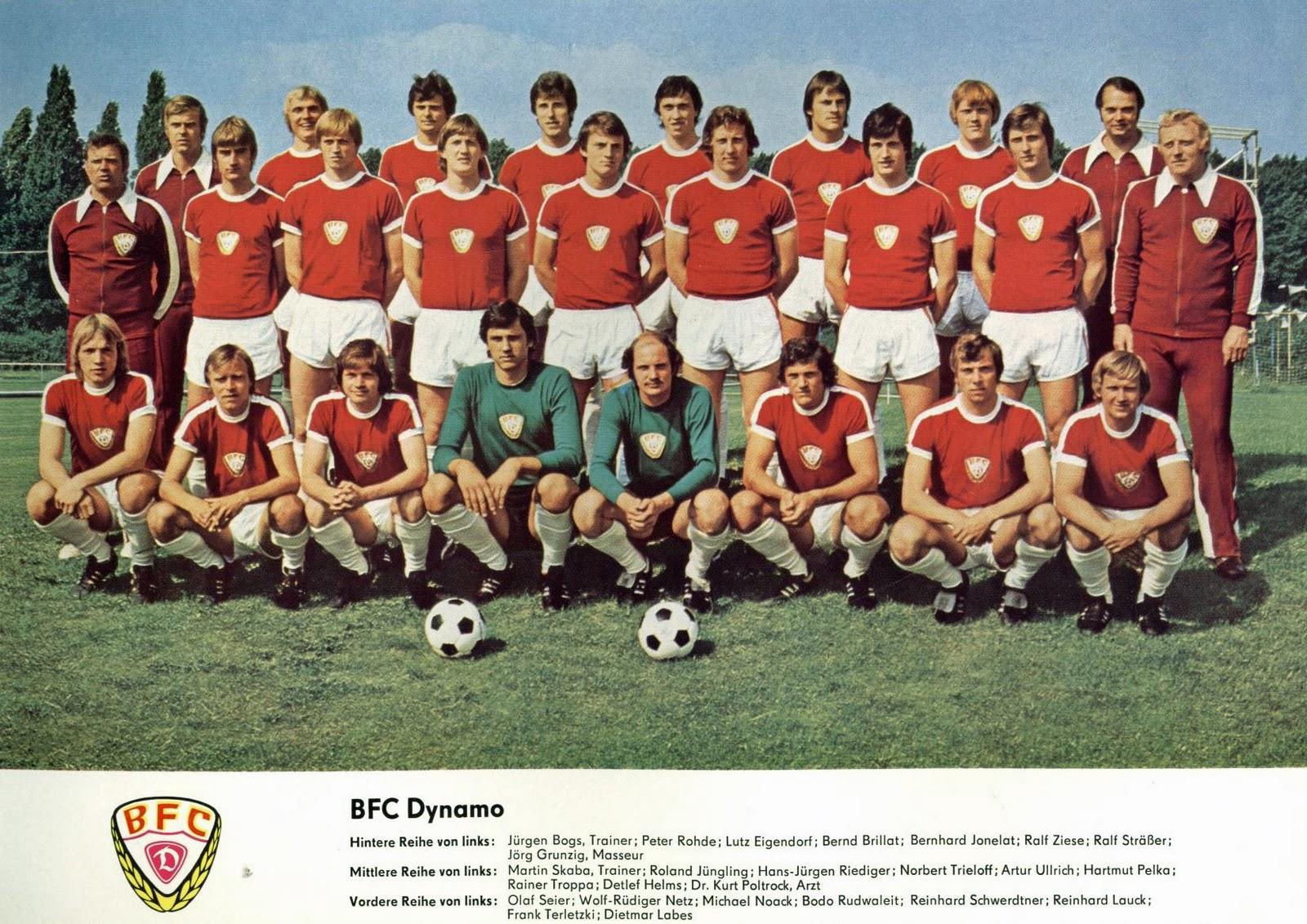 Resultado de imagem para dynamo berlim 1970