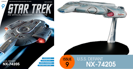 Eaglemoss Collections Eaglemoss+Star+Trek+The+Official+Starship+Collection+%239+USS+Defiant+website