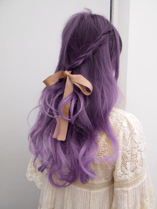 trenzas peinados pelo rosado 2015
