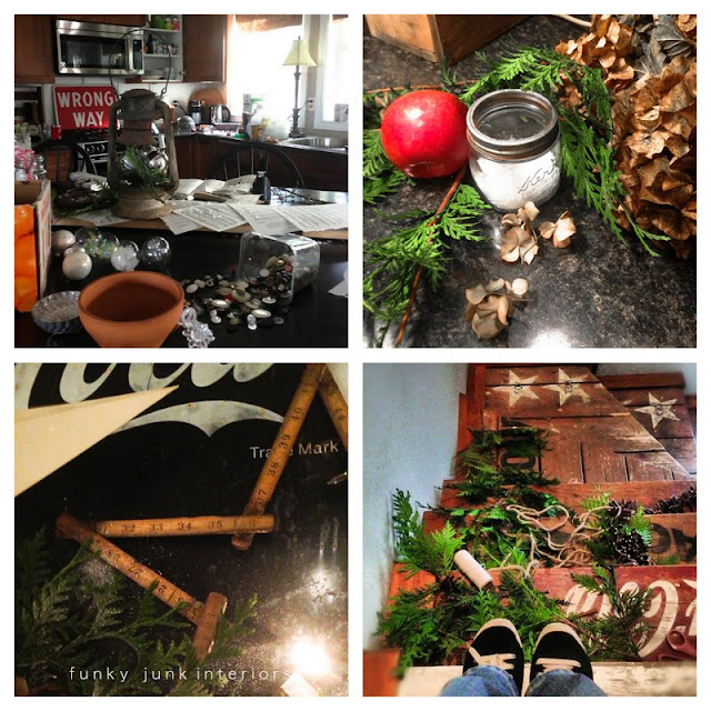 Instagram Update #4, Christmas, work and food via Funky Junk Interiors