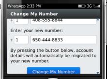 WhatsApp'ta Telefon Numaranızı Değiştirmek