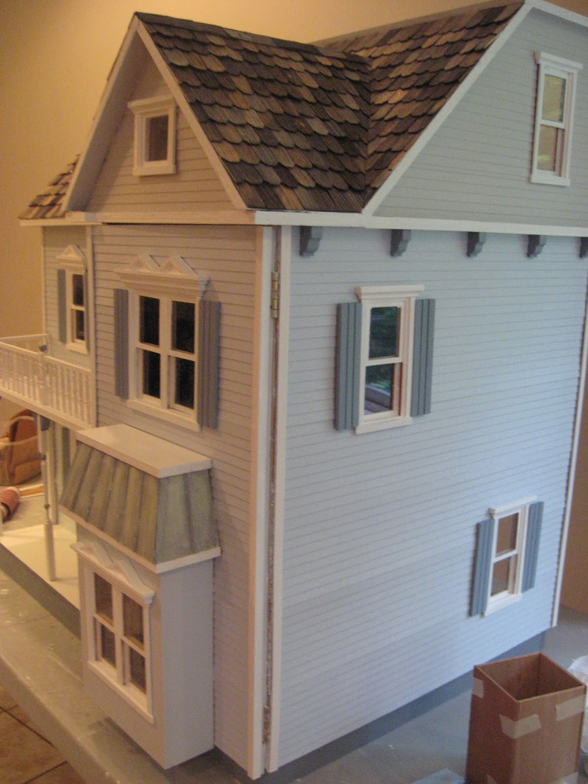 Little Darlings Dollhouses My New Spring Summer Dollhouse