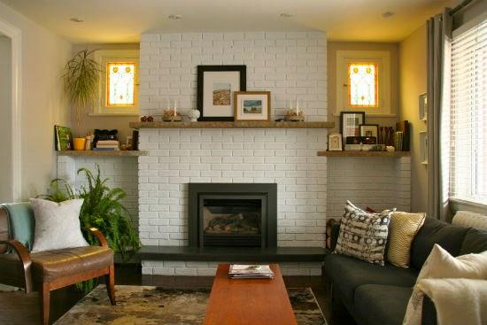 Lealou Main Floor Update Fireplace Ideas