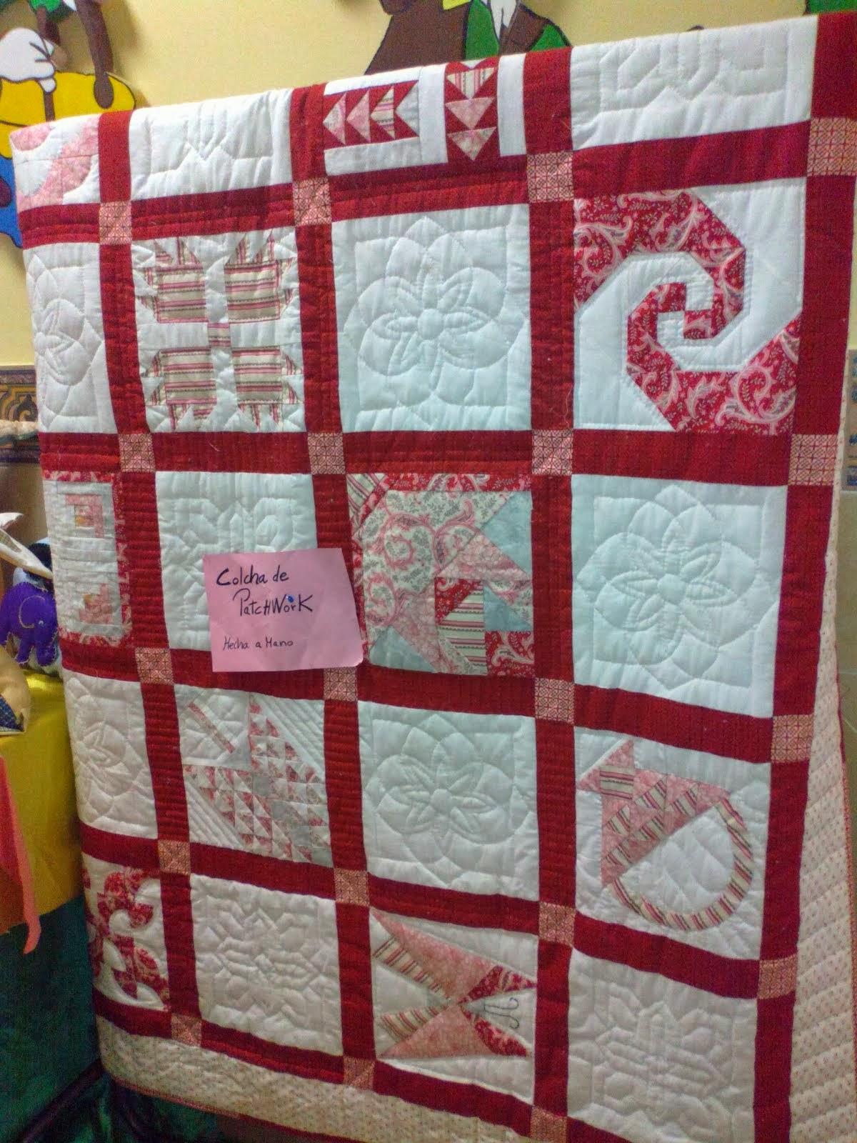 Colchas infantiles y de adultos colchas infantiles cuna - Tecnicas de patchwork a mano ...