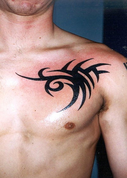 tattoo designs chest tattoo ideas for men