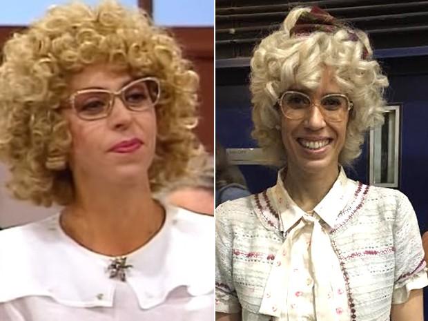 Maria Clara Gueiros é Dona Cândida, papel que foi de Stella Freitas