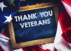 Taking a moment each day to Thank all Veterans for their service!