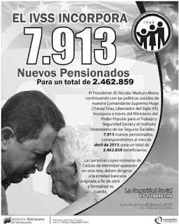 pensionados del seguro social 17/03/2013