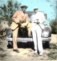 Clyde Barrow & Joe Palmer.