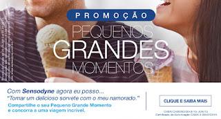 """Concurso Sensodyne - """"Pequenos Grandes Momentos"""""""