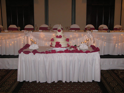 Wedding Head Table Decoration Ideas