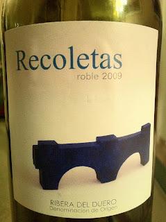 recoletas-roble-2009-ribera-de-duero-tinto