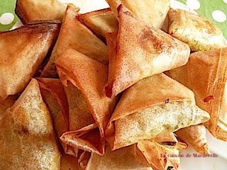 recette samoussas thon cuits au four