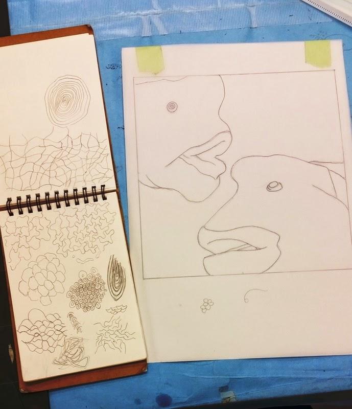 大阪芸術大学 版画コースブログ: 新・版画2回生!