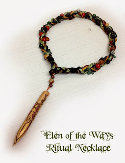 Elen of the Ways Ritual Necklace from MoonsCrafts