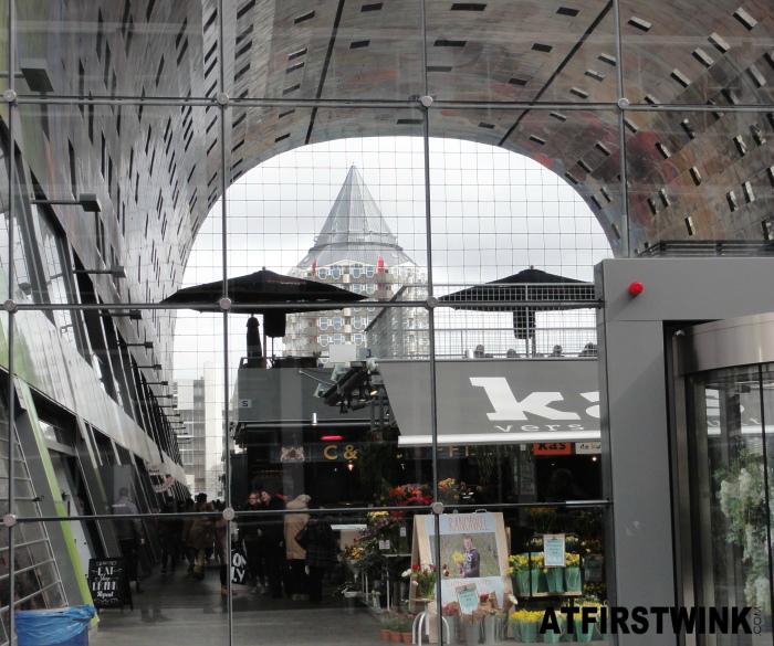 Markthal Rotterdam inside view