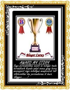 Award untuk sahabat blogger