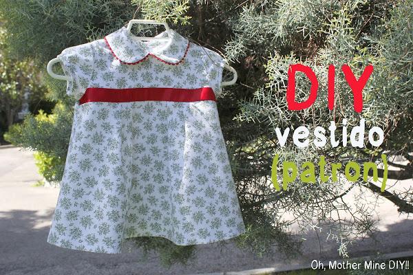 DIY Ropa de beb�: Vestido de flores y mangas de globo (patr�n incluido)