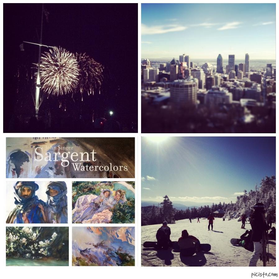Montreal fireworks skiing John Singer Sargent