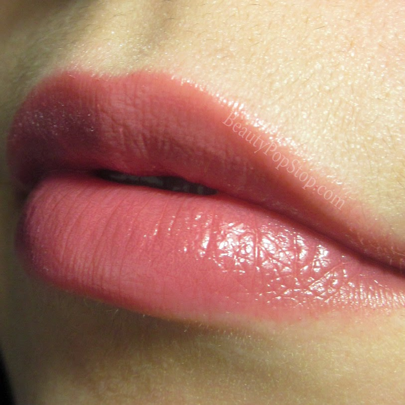 mac patentpolish lip pencil Kittenish swatch and review