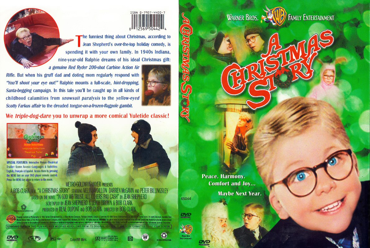 A Christmas Story 3 A  A Christmas Story 2 Dvd Cover