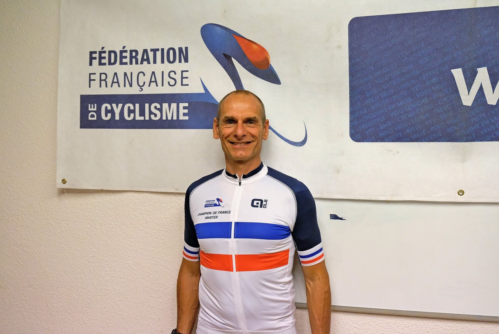 Marc Balascovic Champion de france Master